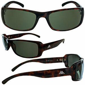 KAPPA Sonnenbrille Damen Herren Rad Sport Brille Braun UV 400 sportlich animal