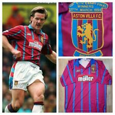 Aston Villa Asics 1994 Coca Cola Final Shirt xl