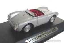Porsche Spyder 550 1:43 Atlas Diecast miniatura coche escala