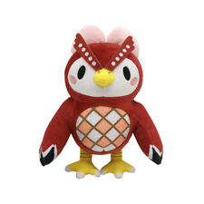 "8"" Animal Crossing Tom Nook Celeste Soft Stuffed Toy Plush Doll Anime Kids Gift"