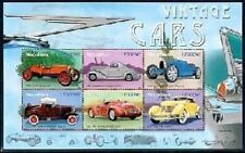 Mozambique- Vintage Cars Sheet Of 6 Collector's Stamps