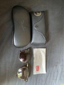 Ray-Ban Herren Sonnenbrille Clubmaster RB3016 W0365 51-21