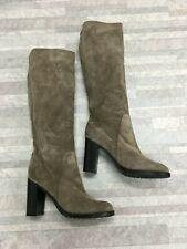 Aquatalia Leather Knee High Boots Color Tan Size: 11 US