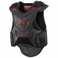 Icon Field Armor Stryker Motorcycle Riding Protective Vest - Black/Red Size L/XL