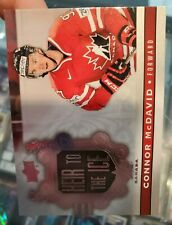 2017/18 Upper Deck Connor McDavid Team Canada Heir To The Ice Insert Card #141