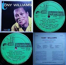TONY WILLIAMS (PLATTERS) GREATEST HITS 1962 MONO UNIQ CVR MEGARARE CHILEAN PRESS