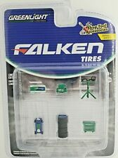 Green Machine 16060-A Shop Tool Accessories Falken Tires 1:64 Greenlight Chase