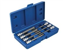 BlueSpot Tools 01514 Muy Largo 1cm Eje Cuadrado Broca Torx Enchufes 7 Piece