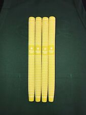 1 NEW Crossline Paddle Putter Grip with ROYAL logo - YELLOW / WHITE