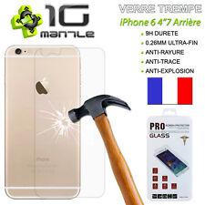 """Film Protection/Protege Ecran - Vitre/Verre Trempé ARRIERE 9H iPHONE 6 4""""7"""