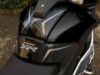 KIT ADESIVI 3D PROTEZIONI SERBATOIO compatibili x MOTO BMW S1000XR triple black