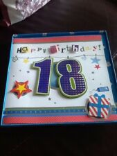 BIRTHDAY CARD SON 18TH OR 21ST TRADITIONAL JJ NEW MALE VERSES INSERTED QUALITY