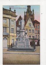 Kortrijk Standbeeld Mgr De Haerne Belgium Vintage Postcard 356b