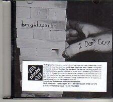 (DO914) The Brightsparks, I Don't Care - 2012 DJ CD