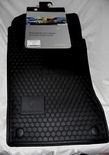2007 to 2011 Mercedes Benz CLS55/CLS63 Rubber Floor Mats - FACTORY OEM - BLACK