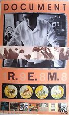 "R.E.M. ""DOCUMENT 1988"" U.S. PROMO POSTER - Alt Music, New Wave, Georgia Rocks!"