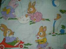 Vintage RICHARD SCARRY ANIMAL Fabric (65cm x 62cm)