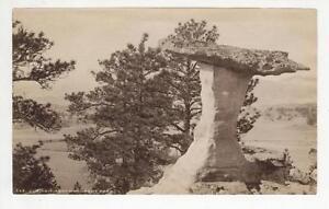 c1880 Albumen Print William Henry Jackson, The Parachute Monument Park, Colorado