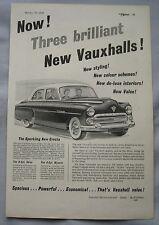 1954 Vauxhall Original advert