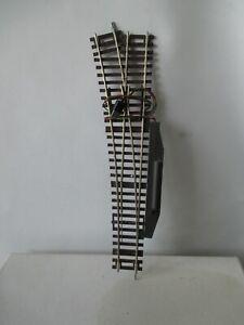 Roco line H0 elektr. Weiche Wl15 links 230 mm ohne Bettung s.Foto o.OVP WH6663