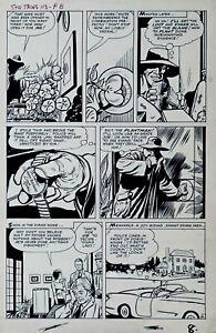1963 DICK AYERS Strange Tales #113 Original Comic Book Art TWICE UP ART Page #8