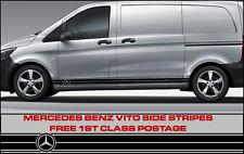 Mercedes Vito Rayas Laterales Calcomanías Gráficos de vehículos caravanas