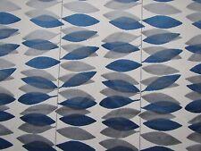 Sanderson Tenda / TAPPEZZERIA STOFFA MIRO 3.3 METRI BLU E ARGENTO taglio velluto
