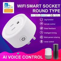 NEW eWelink Smart Plug WIFI Socket Switch For Alexa Samsung SmartThings==