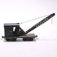 HO Scale -  Brownhoist X-59 Diecast / Plastic Crane Car - Kaydee couplers
