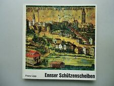 Ennser Schützenscheiben 1971 Schützen Schießen
