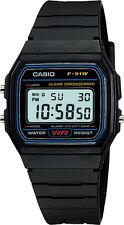 Casio F91W Classic Digital Chronograph Watch Black