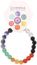 Chakra Ball Bracelet - Sphere Multicoloured Semiprecious Stones Awareness
