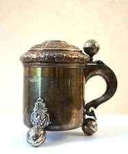 Silver Beer Mug made in Sweden 1907
