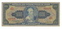 1000 Cruzeiro Brasilien 1955 C050 / P.156b - Brazil Banknote