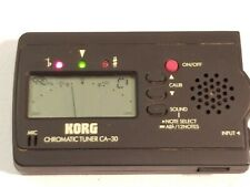 Korg Chromatic Tuner CA-30 Guitar Bass Digital LCD Pitch Calibration