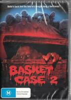BASKET CASE 2 - CLASSIC BLACK HORROR - NEW & SEALED REGION 4 DVD FREE LOCAL POST