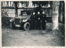 Foto, Panzermänner mit Geländewagen (N)19321