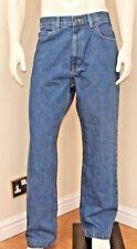 Kirkland Signature Men's 5-Pocket ring spun Blue Jeans genuine quality BNWT