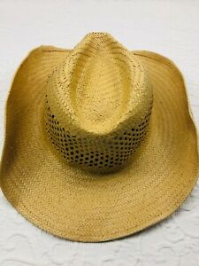 Dorfman Pacific Co. (DPC) Handmade Paper Western Style Hat (pre-owned)