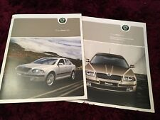 Skoda Octavia Brochure 2004 - UK Issue + 2004 Prices & Specs booklet