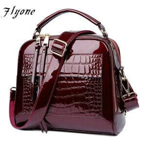 Women Handbag Crocodile Leather Fashion Lady Luxury Shoulder Bag Bolsa Feminina