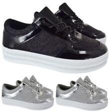Zapatos planos de mujer sin marca de lona