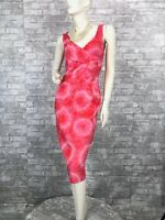 Michael Kors New Pink Silk Cocktail  Dress 4 US 40 IT S Lined Sheath Runway Auth