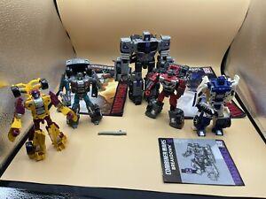 Transformers Combiner Wars Menasor Stunticons - 5 bots - Opened boxes