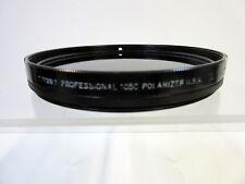 Tiffen 105mm Coarse Thread Self Rotating Linear Polarizer Filter 105C SR