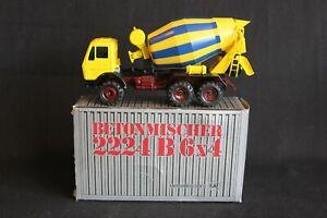 Conrad Mercedes-Benz 2224 B 6X4 Cement Mixer truck 1:50 #3044 (J&KvW)