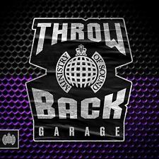 THROWBACK GARAGE – MINISTRY OF SOUND V/A 3CDs (NEW/SEALED)