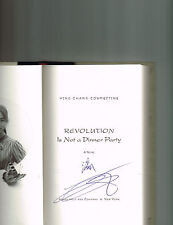 Ying Chang Compestine~REVOLUTION IS NOT A DINNER PARTY~SIGNED 1ST(3)/DJ~NICE