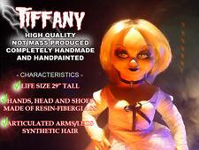 """Life Size TIFFANY Bride of Chucky PROP Fiberglass Replica 29"""" Doll --- TNG Props"""