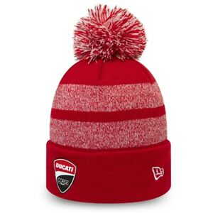 Ducati NEW ERA Corse Red Winter Cap Knit Beanie Cap Beanie Red New 2020